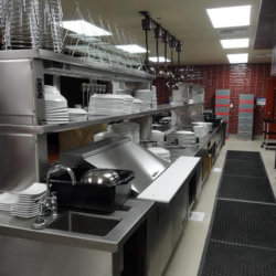 Twin Arrows Navajo Casino Resort Preperation Station Kitchen Design - Arizona Restaurant Supply, INC