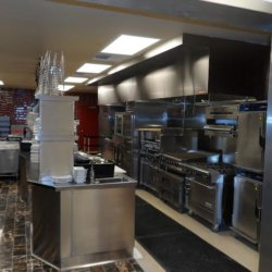 Twin Arrows Navajo Casino Resort Cooking Section Kitchen Design - Arizona Restaurant Supply, INC
