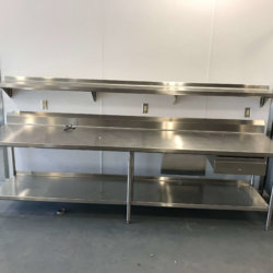 Frank Elementary Preparation Station Kitchen Design - Arizona Restaurant Supply, INC