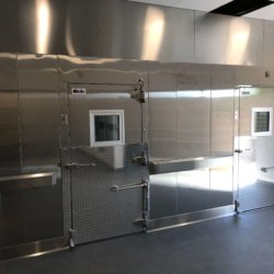 Frank Elementary Walk-In Refridgerator Kitchen Design - Arizona Restaurant Supply, INC