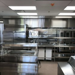 Gila Crossing Preperation Station and Portable Refriderators Kitchen Design - Arizona Restaurant Supply, INC