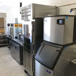 Gila Crossing Ice Machine and Warming Racks Kitchen Design - Arizona Restaurant Supply, INC
