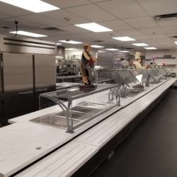 Riverside Elementary School Lunchroom Buffet Kitchen Design - Arizona Resturant Supply, INC