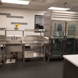 Riverside Elementary School Washing Station and Portable Refridgerator Kitchen Design - Arizona Resturant Supply, INC