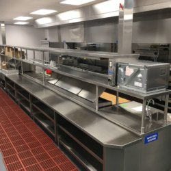 Soboba Casino Line Cook Station Kitchen Design - Arizona Restaurant Design, INC