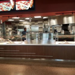 Arizona State University Pizza Display Kitchen Design - Arizona Resturant Supply, INC