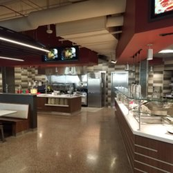 Arizona State University Dining Hall Seating Area Kitchen Design - Arizona Resturant Supply, INC