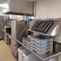 Touchmark Clubhouses Dishwashing Station Kitchen Equipment - Arizona Restaurant Supply, INC