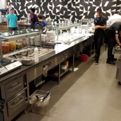 University of Arizona Serving Counter Kitchen Design - Arizona Resturant Supply, INC